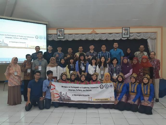 新南向教育的雙贏契機- 農學院師生參加印尼三寶瓏Diponegoro University 假日學校
